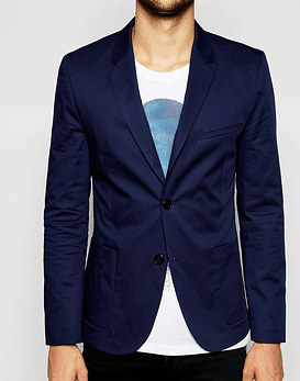 Hugo Boss Blazer with Patch Pockets