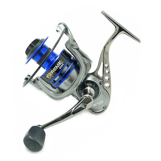 Carrete pesca spinning 8+1 Rodamientos Extreme 5000