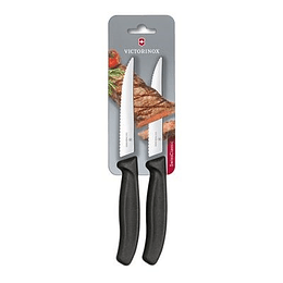 Set Cuchillos de  Cocina - hoja dentada de 12cm