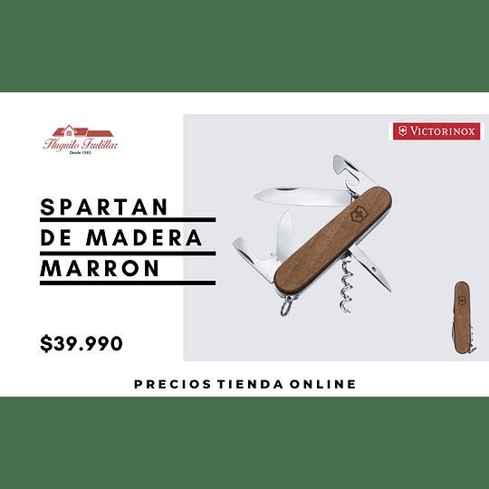 Spartan de madera - MARRON