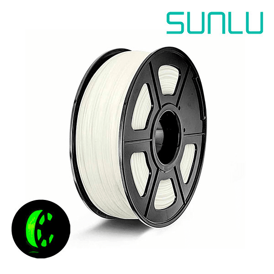 Filamento PLA noctilucent 1Kg Sunlu