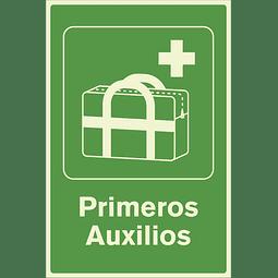 Señales de Evacuación - Primeros Auxilios - Fotoluminiscente