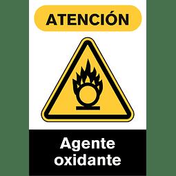 Señales de Advertencia - Agente oxidante