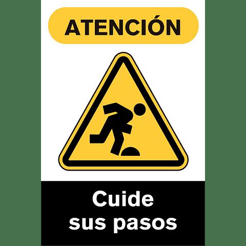 Señales de Advertencia - Cuide sus pasos