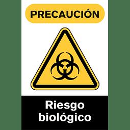Señales de Advertencia - Riesgo biológico