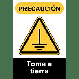 Señales de Advertencia - Toma a tierra