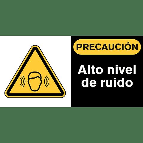 Señales de Advertencia - Alto nivel de ruido