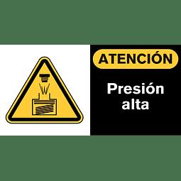 Señales de Advertencia - Presión alta