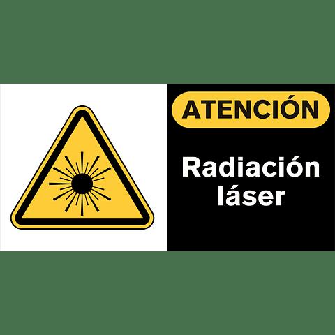 Señales de Advertencia - Radiación láser
