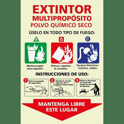 Señales informativas - Extintor