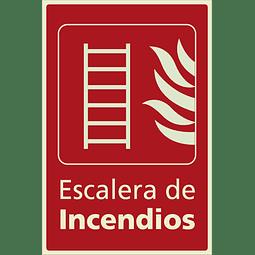 Señales de Incendio - Escalera de Incendio