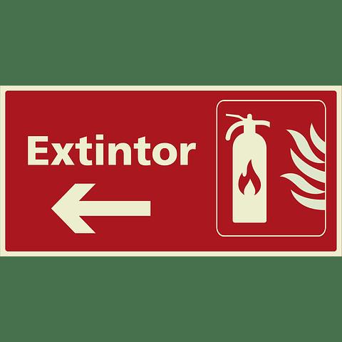 Señales de Incendio - Extintor