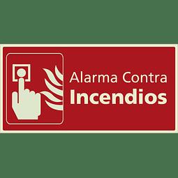 Señales de Incendio - Alarma contra incendios