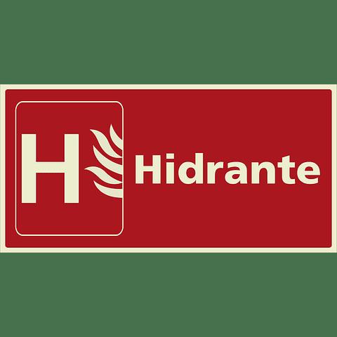 Señales de Incendio - Hidrante