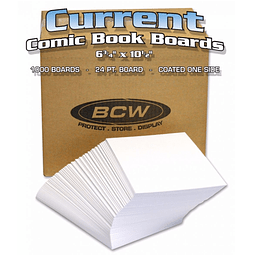 Comic Backing Backer Boards BCW X Unidad