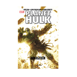 Cómic Planet Hulk - Armagedon - Unlimited Editorial