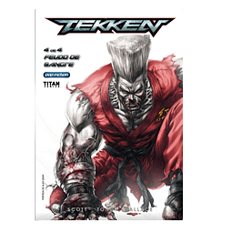 Cómic Tekken VOL 4
