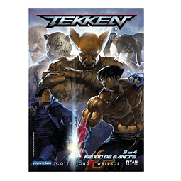 Cómic Tekken VOL 3