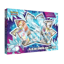 Alolan Sandslash Gx Box Pokemon Español