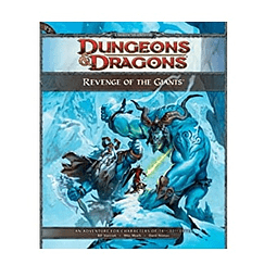 Dungeons & Dragons 4th: Revenge Of The Giants