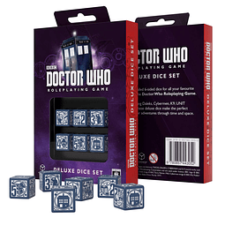 Set 6 Dados Doctor Who