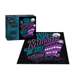 Knight Bus Harry Potter 200 Piezas Puzzles - Rompecabezas