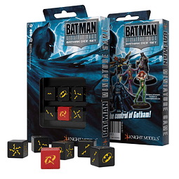 Batman Miniature Game - D6 Batman Set de Dados