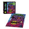 "Rick and Morty ""Eye See You"" Glow-in-the-Dark 550 Piezas Puzzles - Rompecabezas"