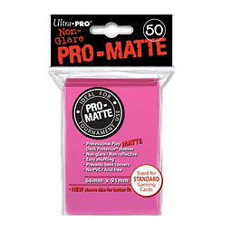 Protector Ultra Pro STANDARD Pro-Matte Color Bright Pink