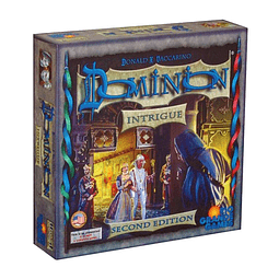 Dominion Intrigue 2nd Edition Juego De Mesa - INGLÉS
