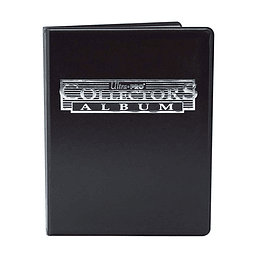 Carpeta ULTRA PRO Collectors Album Negro 180 Cartas