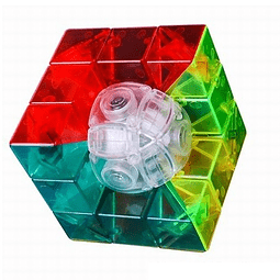 Cubo Geo Cube MF Stickerless Transparente