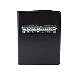 Carpeta ULTRA PRO Collectors Album Negro Para 80 Cartas