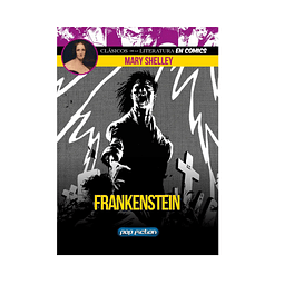 Cómic Frankenstein, de Mary Shelley