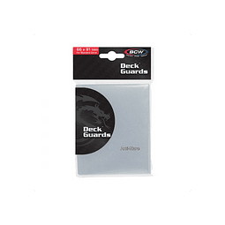 Protector BCW STANDARD DECK GUARDS - CLEAR - ANTIGLARE