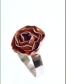 ROSA DE COBRE Y PLATA 950