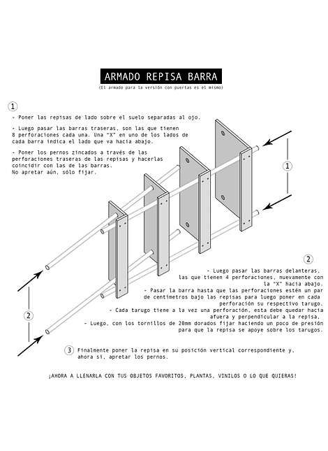 Repisa Barra Simple