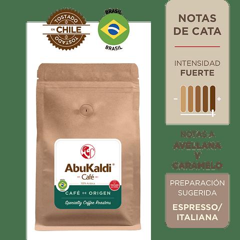 Café Brasil, molido 500g.