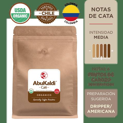 Café Orgánico, grano 1kg.