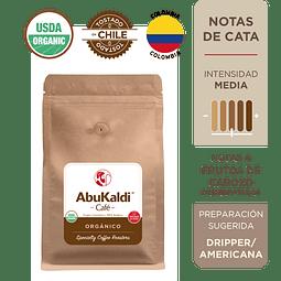 Café Orgánico, molido 500g.