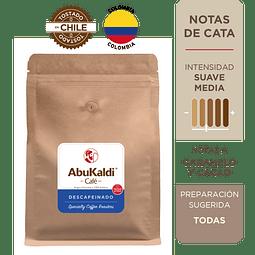 Café Descafeinado, grano 1kg.
