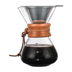 Coffee Pot Dripper c/ madera