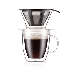 Vaso Dripper 300 ml. + Café