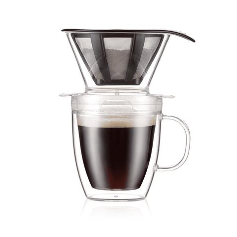 Vaso Dripper 300 ml. + Café