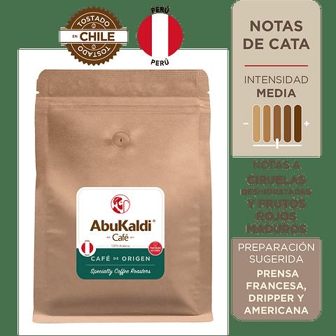 Café Perú, grano 1kg.