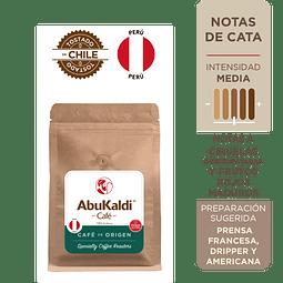 Café Perú, grano 250g.