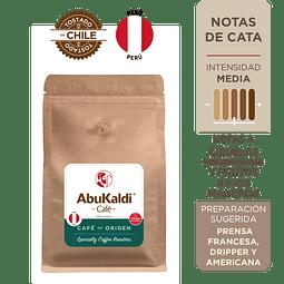 Café Perú, molido 500g.