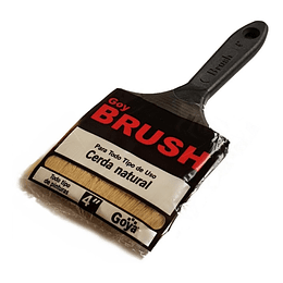 "Brocha Cerda Natural 4"" Brush Goya"