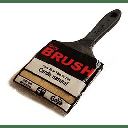 "Brocha Cerda Natural 4"" Brush Goya"