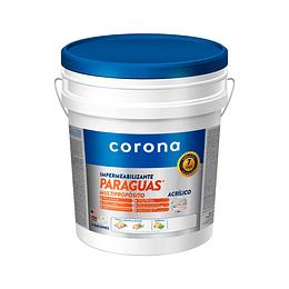 Paraguas Multiproposito  Blanco Cuñete Corona